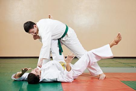 taekwondo exercises. training throw