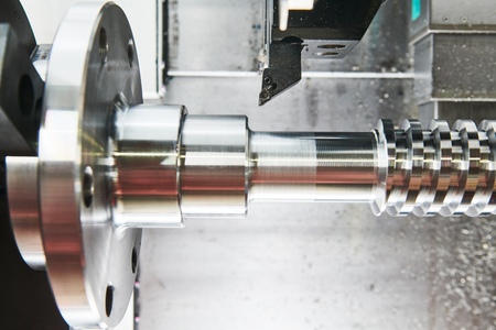 cutting tool at metal working