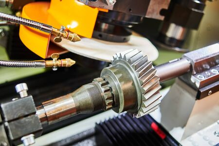 helical tooth gear manufacturing. Grinding machine