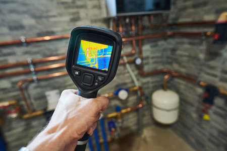 thermal imaging inspection of heating equipment