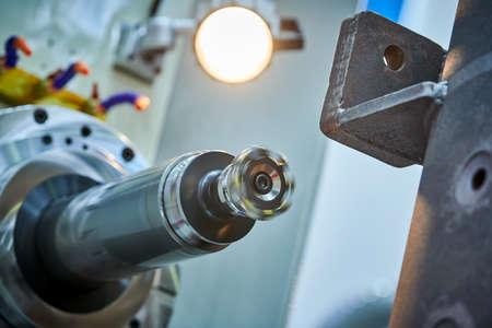 CNC milling machine work of body part