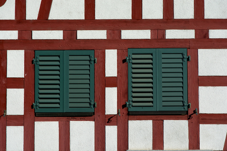 simetric: Timber framing is a common building method in Gremany, Switzerland, France from the 19th century and earlier.