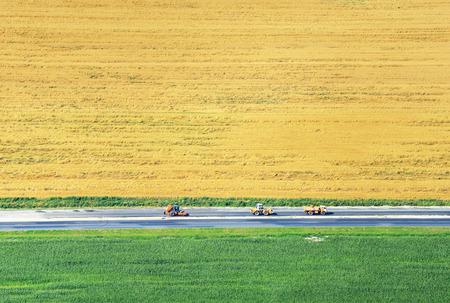 israel farming: Crossroads and Fields