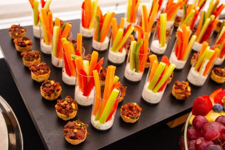 Away catering variety of luxury meals