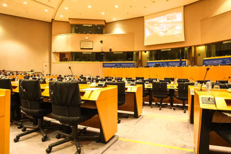 Conference room of the European Parliament, Brussels, Belgium - 02 Mar 2011 Éditoriale