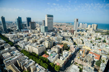 Israel. Tel Aviv. APRIL 15, 2015. Expensive housing. District of millionaires. Delightful and beautiful areas and balconies. Sauna, spa, pool and gym. A place for rest and relaxation.