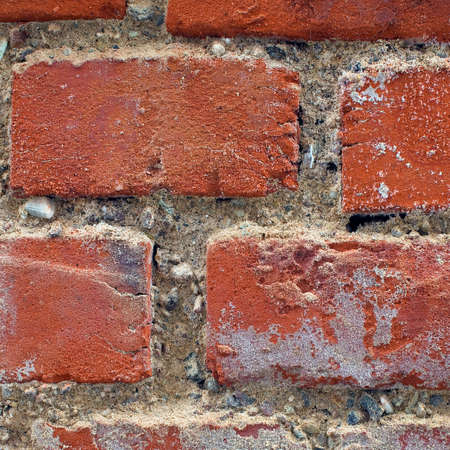 The texture of the old brick wall Stock Photo