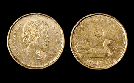 The one canadian dollar