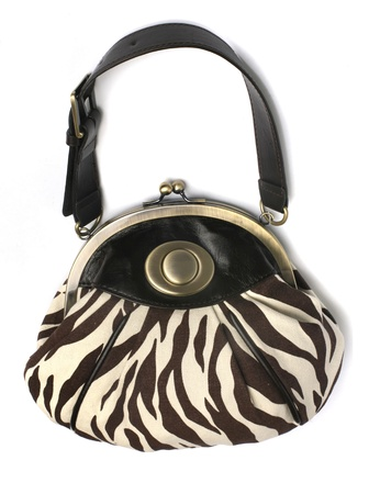 haute couture: Luxury Handbag Stock Photo