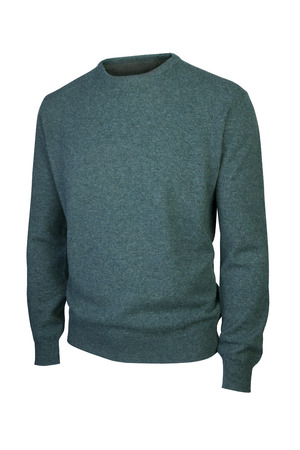 Luxury man sweater isolated on white