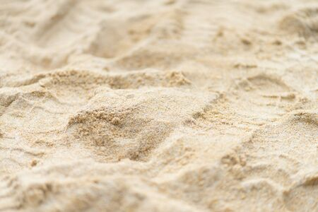 close up sand beach ground floor background and texture