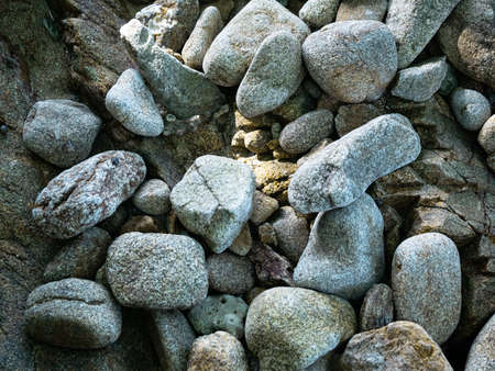 stone ground floor surface background for texture