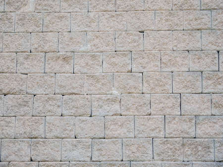 close up concrete blocks wall background for texture