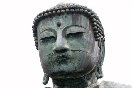 The Great Daibutsu, Buddha of Kamakura , a bronze statue of Amida Buddha in Kotokuin Temple, Kamakura, Kanagawa, Japan 免版税图像
