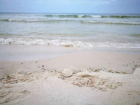 white sand beached blues at Hua Hin beach