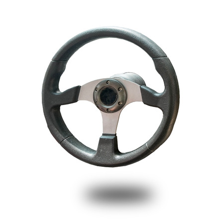 shiny buttons: Steering wheel