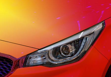 Car headlights, energy-saving technology