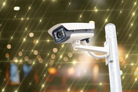 Cctv system on the 24-hour anti-staring technology