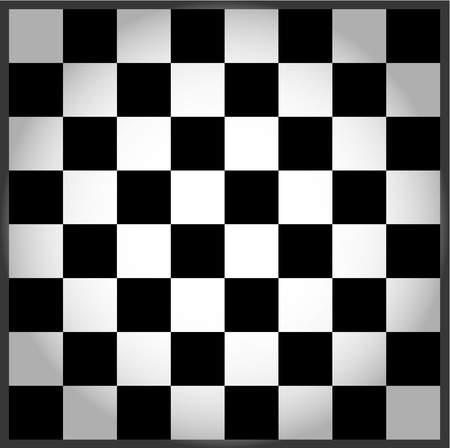 chess piece: Empty chess board