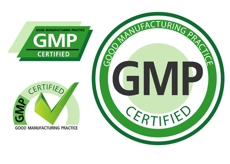 certified: Good manufacturing practice, GMP