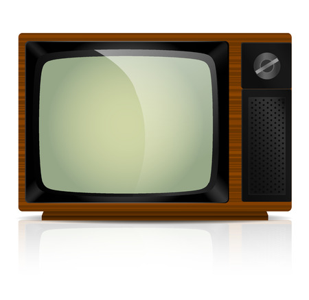 Vintage TV Illustration