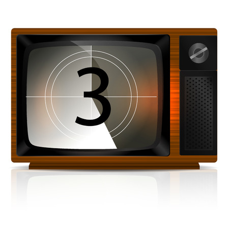 old tv: Countdown 3 on the Retro TV