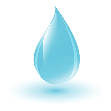 clean water: Water drop