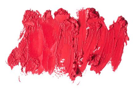 Smudged lipstick abstract texture Foto de archivo
