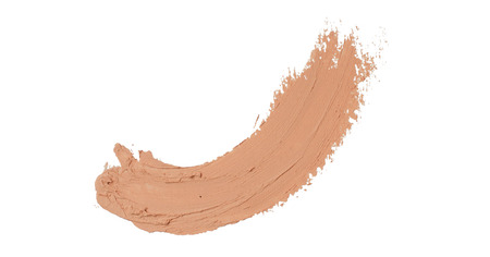 concealer trace isolated