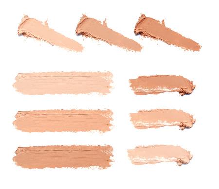 drawing up: smear makeup tone Stock Photo
