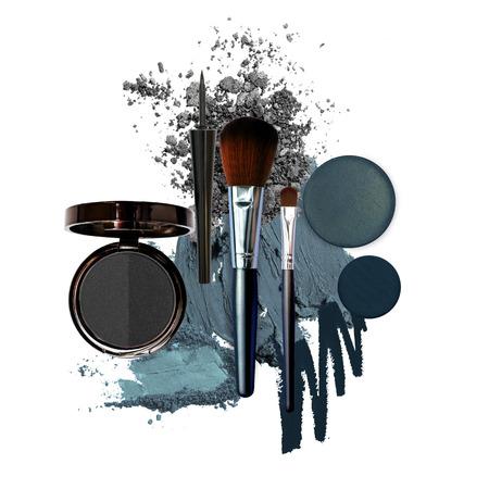 various cosmetic smoky fashion theme