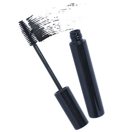 Smear of mascara