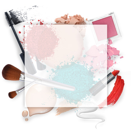 Blank Cosmetic promotion frame