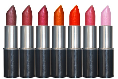 Multicolored color lipsticks