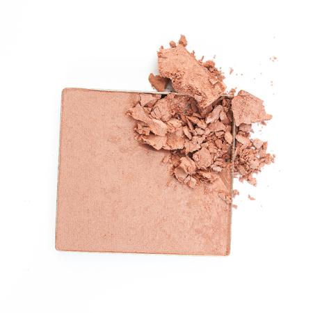 Poudre cosmétique écrasé Banque d'images - 60575274