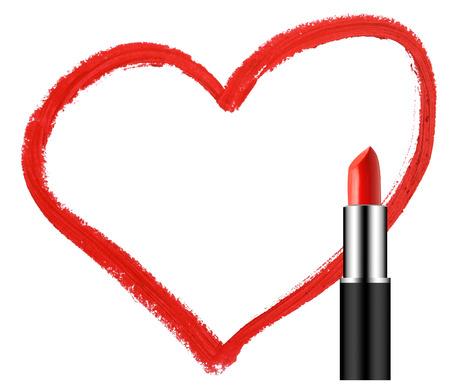lipstick with heart shape