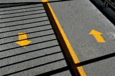 Two way traffic arrows