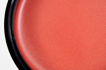 cosmetic cream with shimmer texture for cheek eye and lip 免版税图像