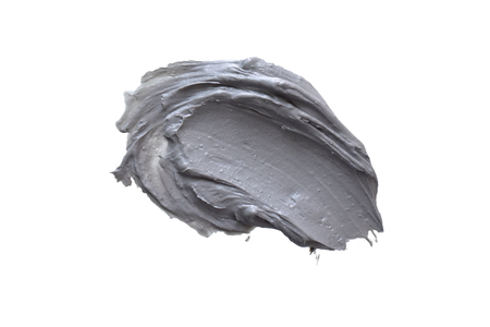 Smear Clay Mask on a white background