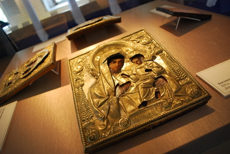 iconography: Iconography of St  Mary with Baby Jesus Editorial