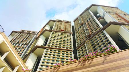 hdb: modern HDB flat in Singapore