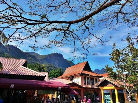 tourist destination: Langkawi tourist destination Editorial