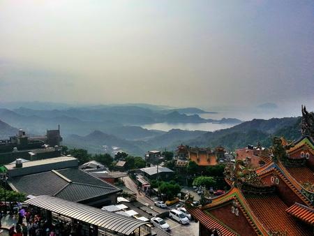 jiufen: Taiwan jiufen hill view