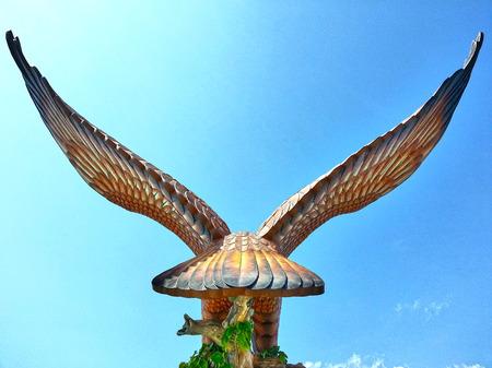 backview: Langkawi Big Eagle Backview