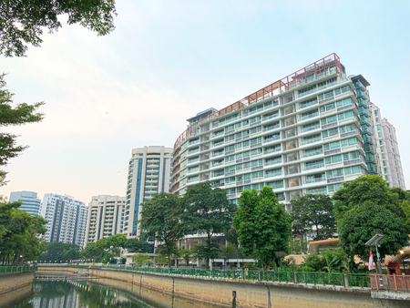Modern Looking residential apartment (HDB) in Singapore