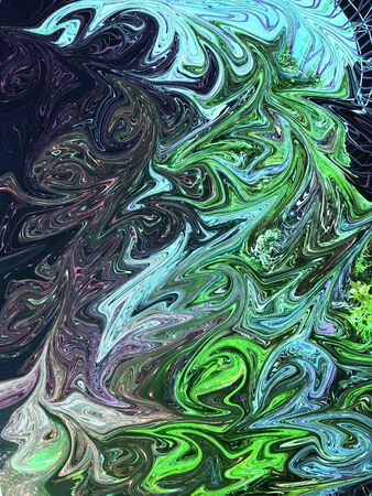 Abstract colourful fluid design background. Stock Photo