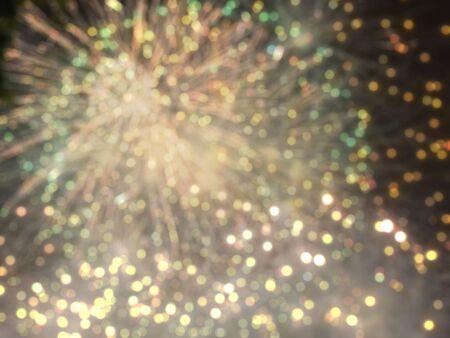 Christmas, new year and holiday festive celebratory background Stock Photo