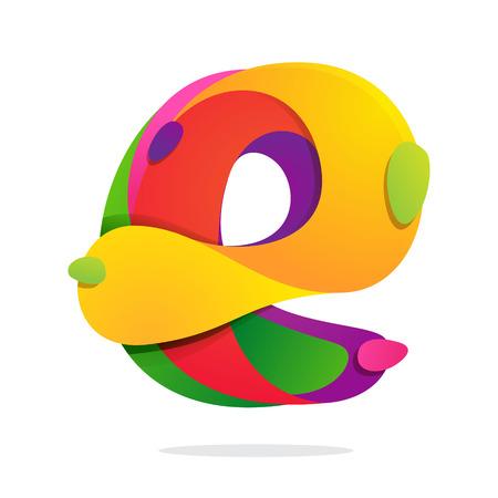 Lettervolume kleurrijke concept. Vector ontwerpsjabloon elementen voor uw toepassing of bedrijfsidentiteit. Stockfoto - 44888109