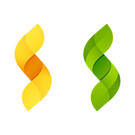 save icon: Letter volume colorful concept. Vector design template elements for your application or corporate identity.