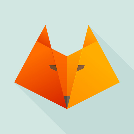 head of animal: Animal design template elements for your application or company or sport team branding